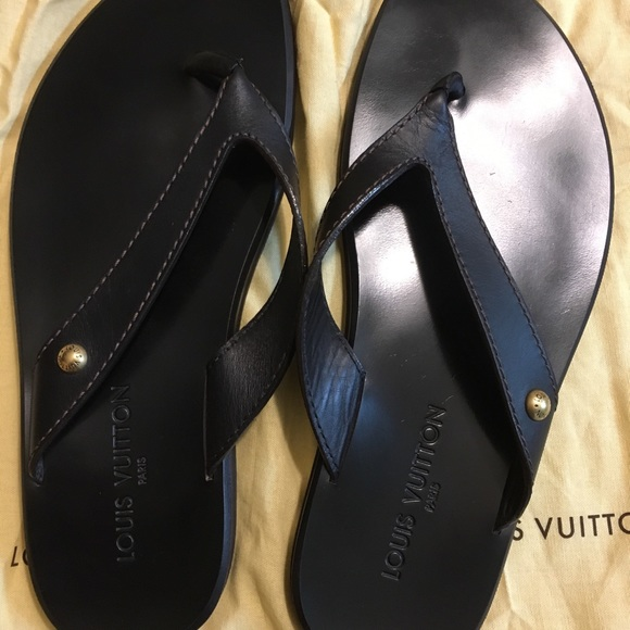 788a9877d459f Louis Vuitton Other - Louis Vuitton Men s flip flops